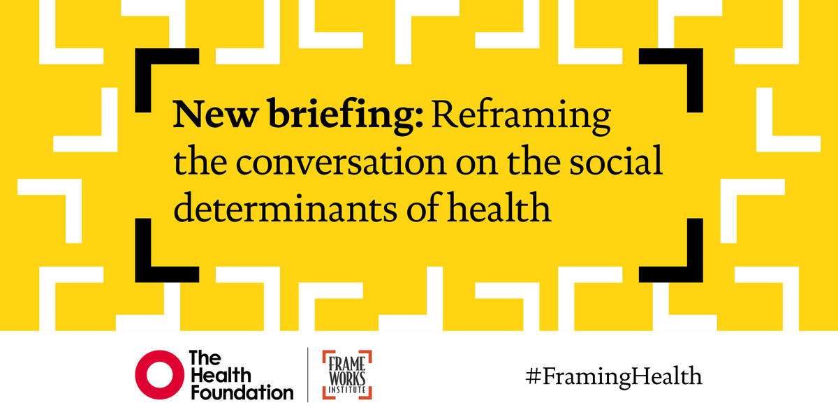 Reframing the conversation on the social determinants of health