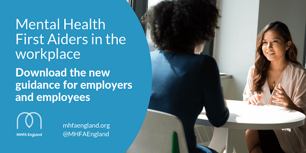 MHFA England launches best-practice workplace guidance